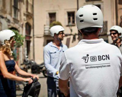Comunicación previa Segway en Barcelona