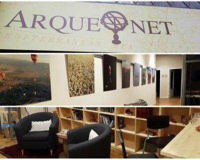 Nueva licencia de actividad de una academia de arqueología en Barcelona.