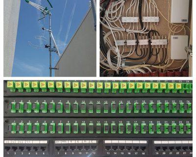 Proyecto ICT para 24 viviendas en Barcelona.
