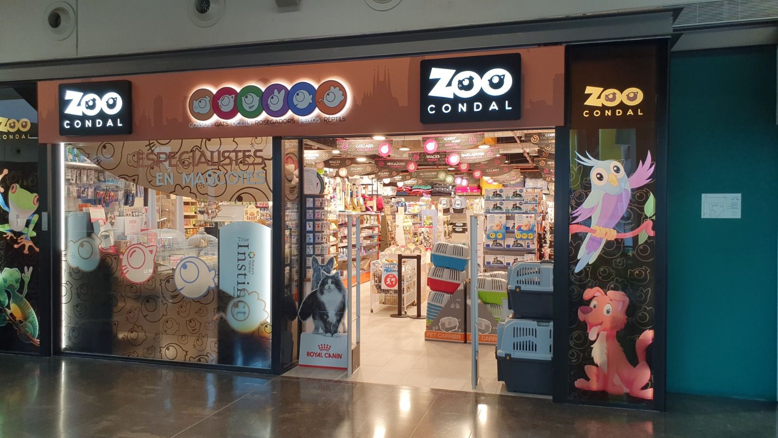 Licencia actividad tienda complementos mascotas badalona